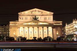 Das Bolschoitheater war bei unserem letzten Besuch noch eingerüstet, nun strahlt es in vollem - restauriertem - Glanz